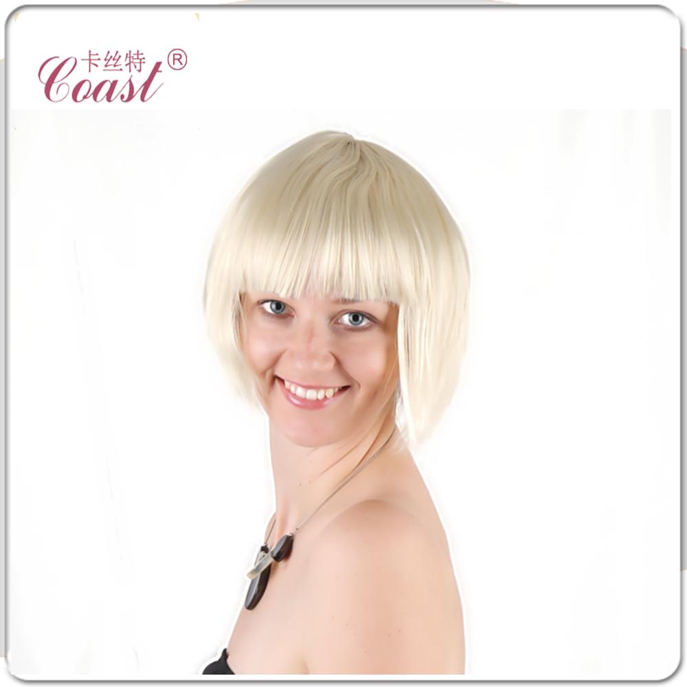 Ladies Short Hair Wigs 76