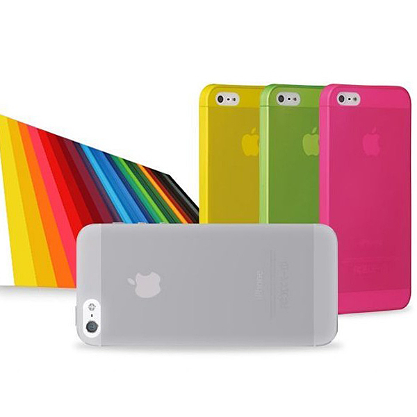 0.3mm Ultra Thin Case for iPhone 5s Slim Matte Transparent Cover Case for iphone 5 cases Free shipping(China (Mainland))