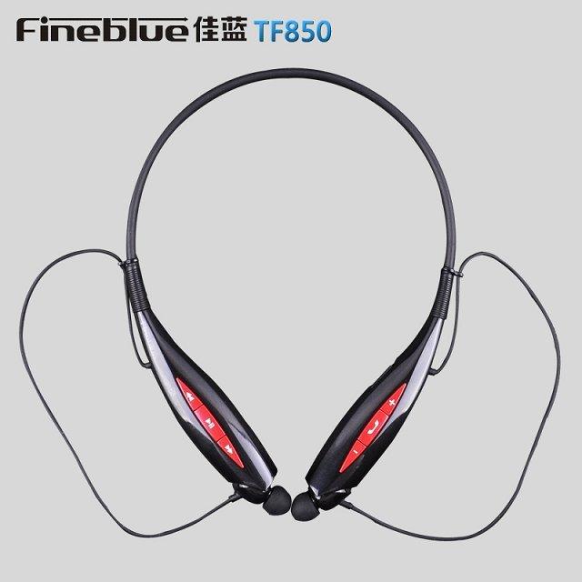 Brand New Fineblue TF850 Wireless Bluetooth Earphone for Iphone Stereo Headset Bluetooth Wireless Headset Headphone Handfree