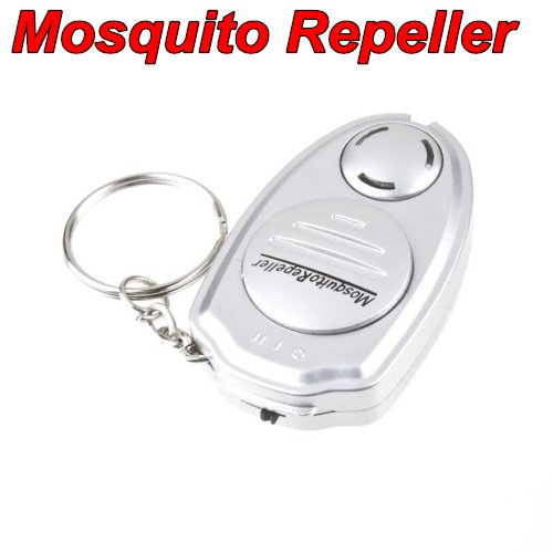 10pcs key clip Eco-Friendly Electronic Ultrasonic Pest Mosquito Insect Repeller for outdoor living and activities(China (Mainland))