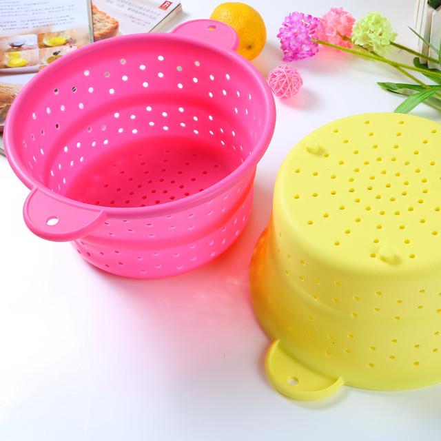 Durszlak sitko kuchenne silikon