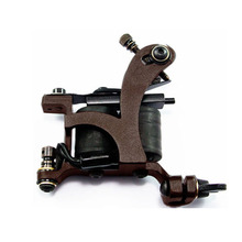 2015  New Arrival Handmade Tattoo Machine Liner Steel Frame Copper Coils Body Artist Tools(China (Mainland))