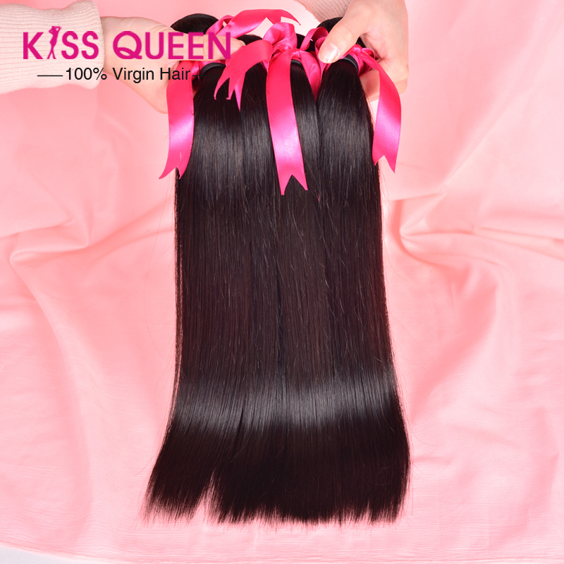 Queen hair products peruvian straight 3 bundles puruvian hair peruvian virgin straight 3pcs lot hair-weave beauty max hair<br><br>Aliexpress