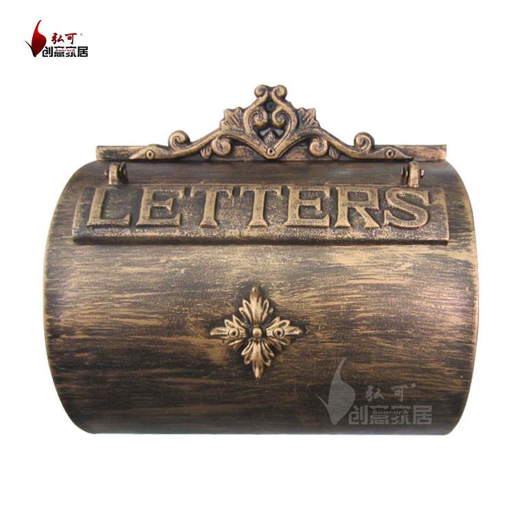 antique wall mount mailbox 1