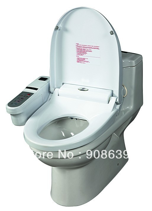 automatic bidet toilet seat with remote controller decorative elongated toilet seats