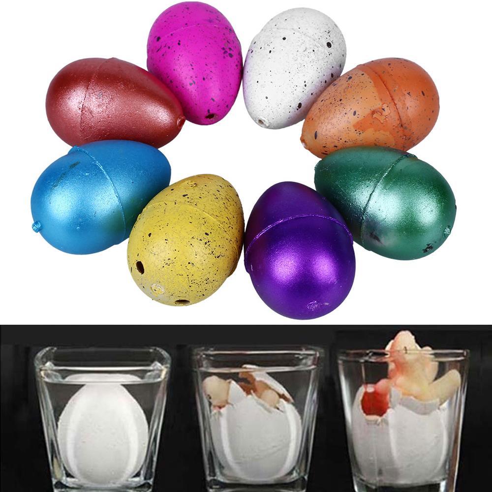 6Pcs Magic Hatching Dinosaur Eggs Kids Educational-Add Water-Growing Kids Toy