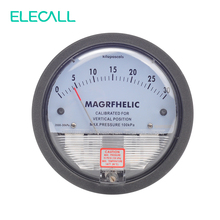 "ELECALL TE2000 0-30KPA Micro Differential Pressure Gauge High Precision 1/8 ""NPT Round Type Pointer Instrument Micromanometer(China (Mainland))"