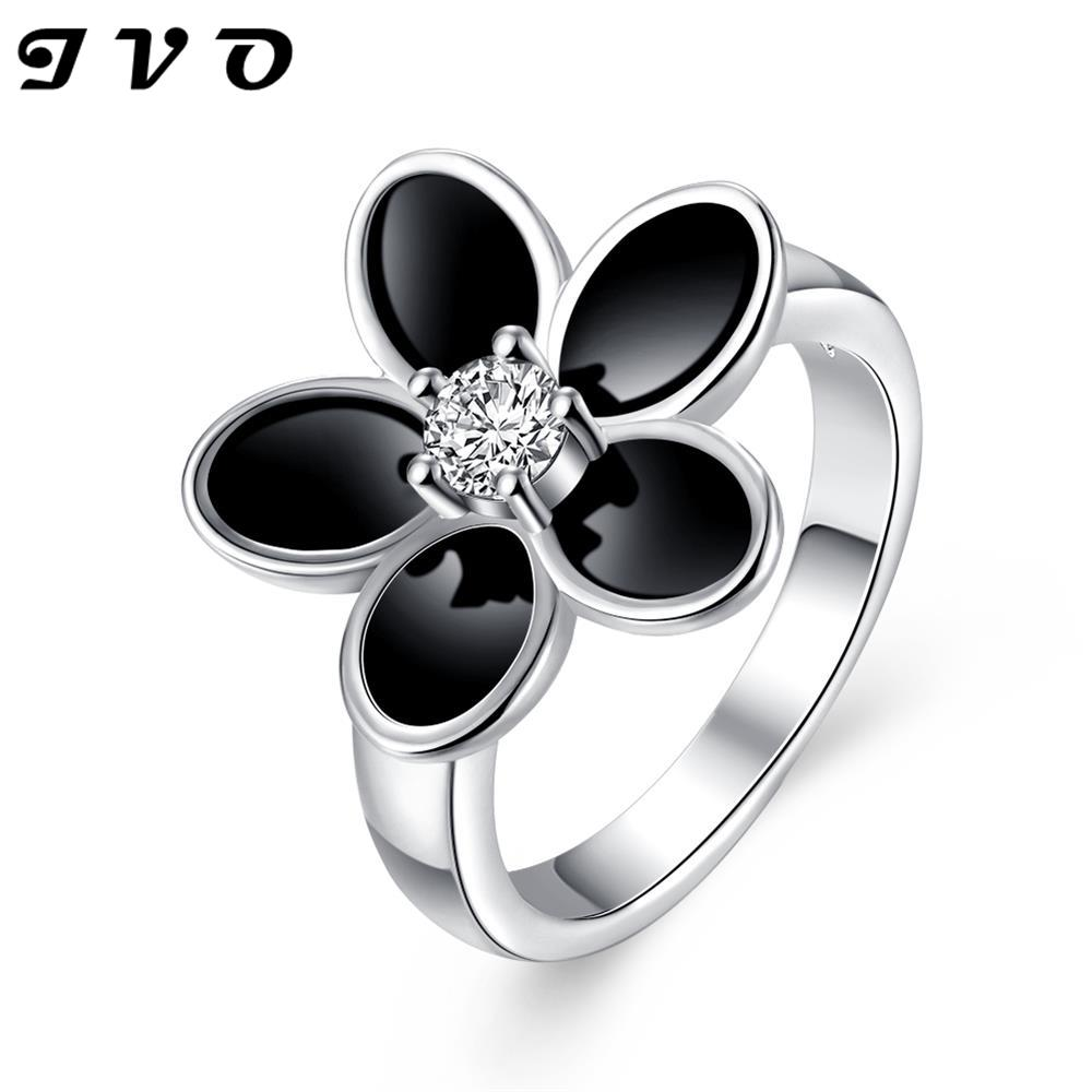 Free Shipping 2015 silver plated engagement ring DECORATED insets anel de ouro Jewelry European Style(China (Mainland))
