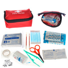 New Arrive First Aid Medical Mini Bag Botiquin With Kit Bandages Tourniquet Medicine Chest Bolso Medico()