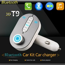 New EGTONG T9 Electronic Cigarette Lighter Wireless Bluetooth Speaker Car Kit Hands free Car Charger MP3