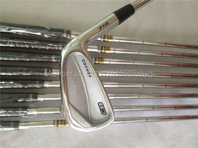 Brand New CB716 Iron Set CB716 Golf Irons Golf Clubs 3-9Pw(8PCS) Regular/Stiff Flex Steel Shaft With Head Cover(China (Mainland))