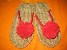 Manufacturers supply hemp slippers handmade hemp shoes natural sandals massage sandals