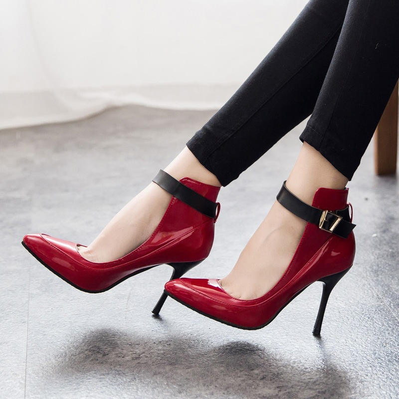 Online Get Cheap Black Heels Red Bottoms -Aliexpress.com | Alibaba ...