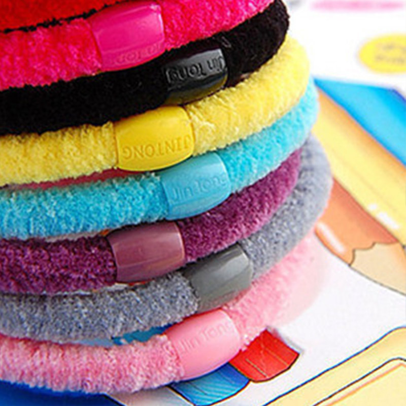 6017 100pcs/lot Fashion 2015 Cotton Girl's Elastic Ribbon Headband Simple Hair Ornaments Summer Style Hot Sale(China (Mainland))