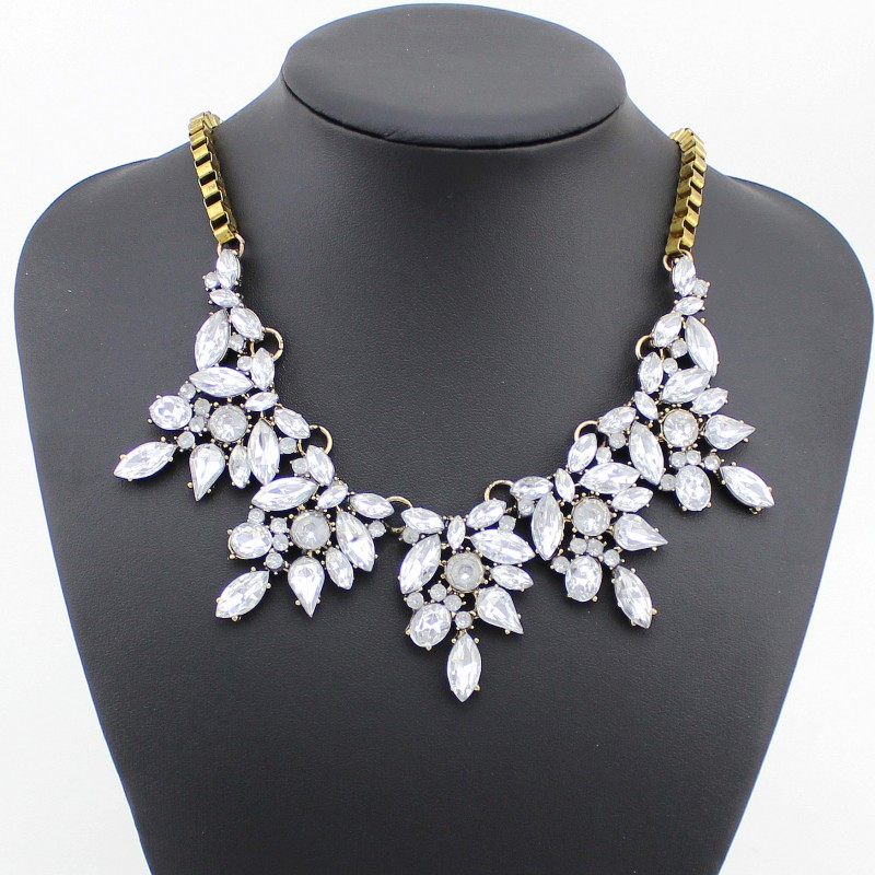 2014 Fashion women jewelry colar Choker Necklace Lady Wedding christmas Gift collares pendant Vintage Statement Necklaces  -  Top Jewelry Shop store