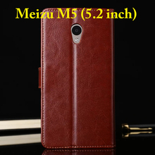 Buy For Meizu M5 M 5 Case 5.2 inch Flip Wallet Genuine Leather Cover For Meizu M5 Note Stand Function Three Card Holder Black Brown for $5.59 in AliExpress store