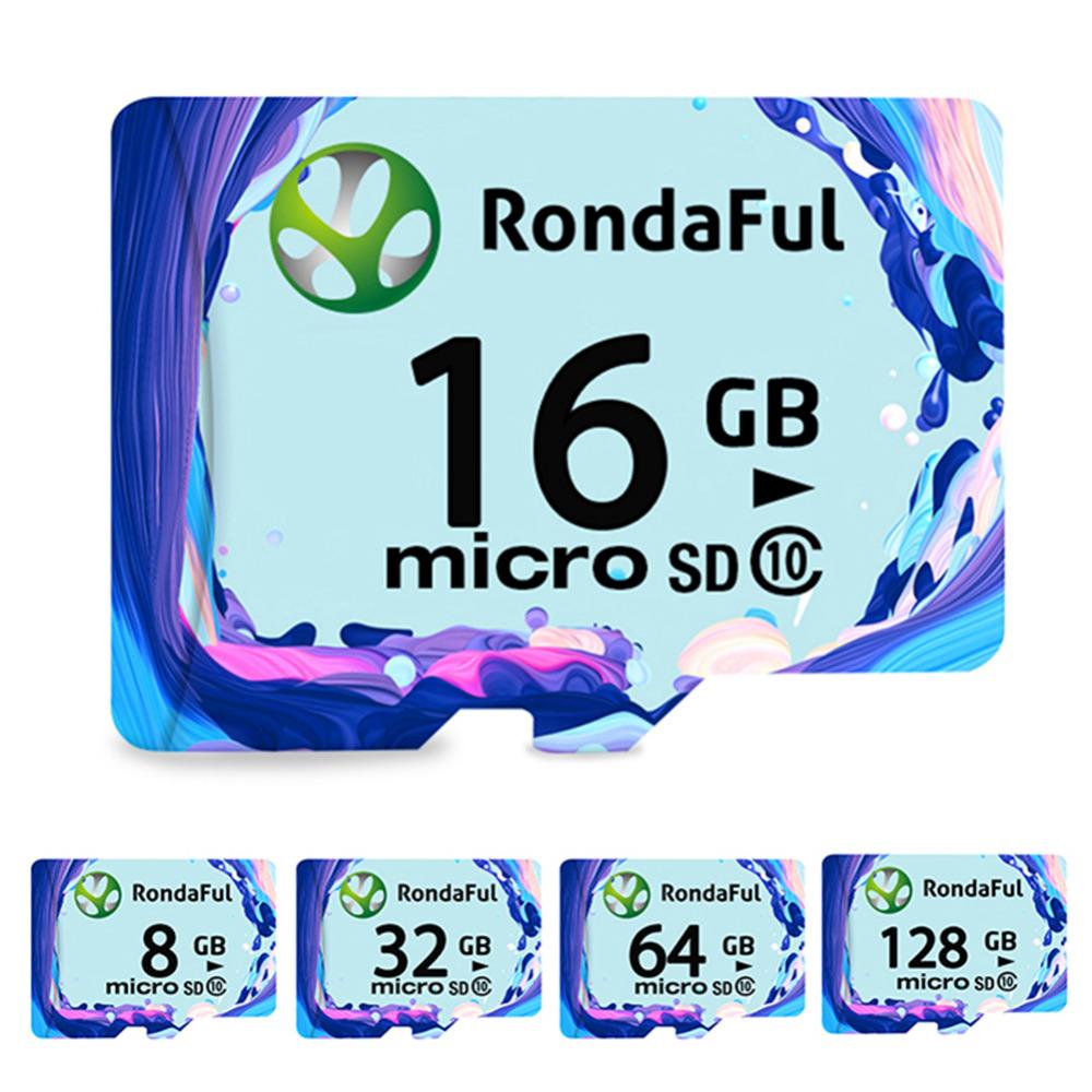 Rondaful micro sd card class 10 TF card 32gb Real capacity 8GB 16 GB 32 GB 64GB 128GB memory cards for Phone/Tablet/Camera(China (Mainland))