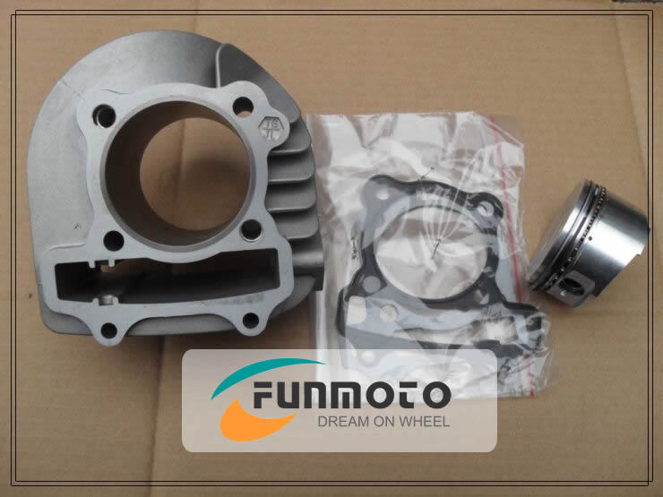 Фотография CYLINDER COMPON SET INCLUDE PISTON  AND  GASKET AND CYLINDER FOR BASHAN ATV 200-11 ENGINE PARTS
