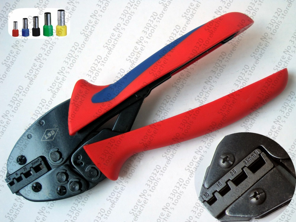 10-35mm2 8-2AWG NEW GENERATION OF ENERGY SAVING CRIMPING PLIERS For Cable Ferrules,End Sleeves S-1035GF(China (Mainland))