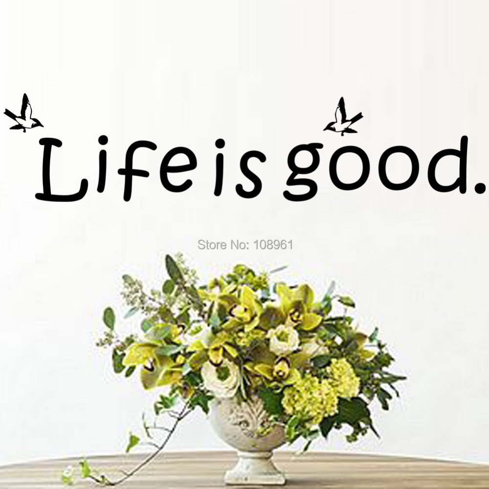 life is good flying butterfly diy wall art inspirational