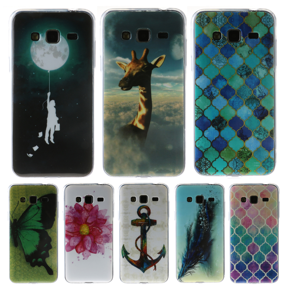 For Coque Samsung Galaxy J3 Case Silicone TPU Soft Case Samsung Galaxy J3 2016 J320 Cover Fashion Design Cell Phone Case(China (Mainland))