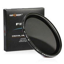 58mm ND Filter Fader Neutral Density Adjustable ND2 to ND400 Variable Filter for Canon Nikon DSLR Camera