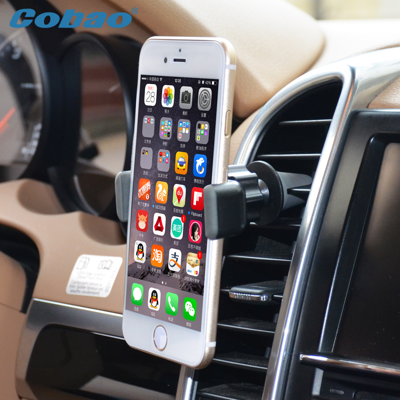 Universal Soporte Movil Car Outlet Air Vent Cellphone Holder Stand Support For Iphone 6 Plus Samsung S6 mobile phone Accressies(China (Mainland))