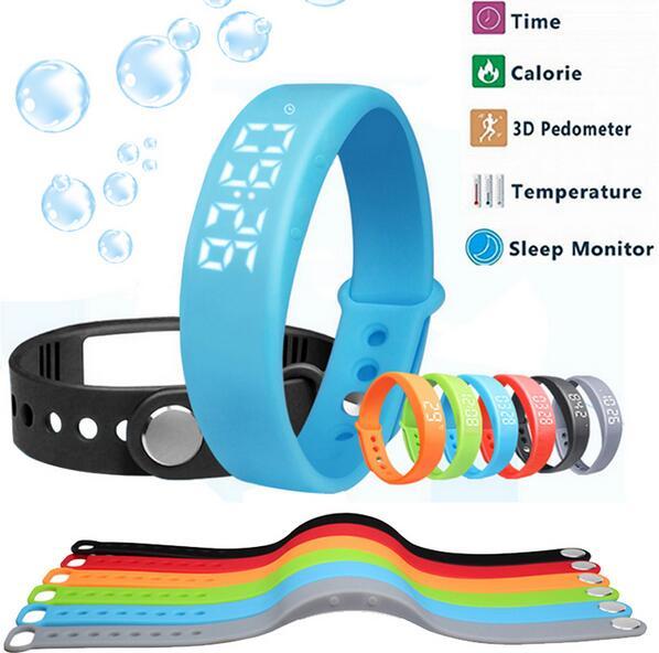 Smart Wristband Bracelet W5 Bluetooth Bracelet Pedometer Step Walking Distance Counter Activity Tracker Monitor