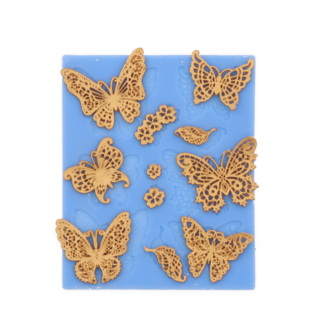 Butterfly Silicone Cake Mold Silicone Lace Mold Fondant Cake Decorating Tools Chocolate Mold Silicone Mold Cake Tools(China (Mainland))