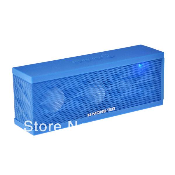 Water Cube Design Wireless Bluetooth V3.0 Digital Speaker Music Player Loudspeaker Box Jambox for iPhone MP3(China (Mainland))