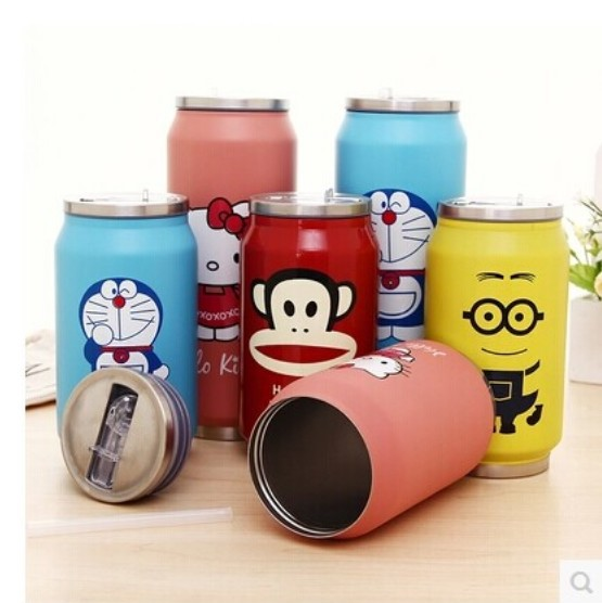 New Tepmoc Coffee Thermo Mug Tea Travel Mugs And Cups zakk vacuum insulation cup Coca-co water bottle gift(China (Mainland))