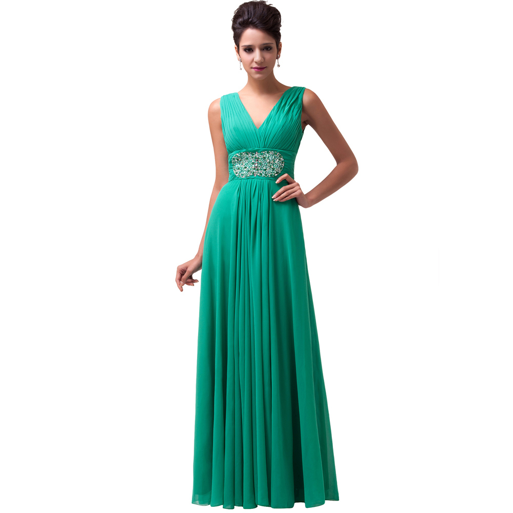 Grace karin mint green women cheap evening dress long 2016 for Formal long dresses for weddings