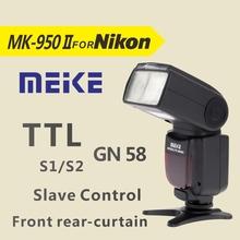 Buy MEKE Meike MK950 II i-TTL TTL Flash speedlite camera flash Nikon D7100 D7000 D5200 D5100 D5000 D3100 D3200 D600 D90 D80 D60 for $88.00 in AliExpress store