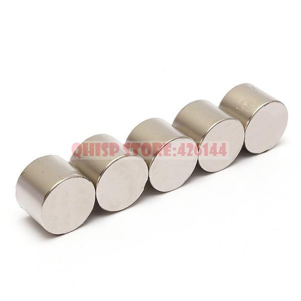 2015 New Sale Neodymium Magnet Iman 5 Pcs/lot _ Super Strong 25mmx20mm N35 Disc Rare Earth Magnets Diy