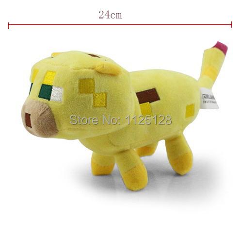 1 шт. оригинальные JJ куклы желтый кот Totora чучела плюшевые Minecraft лиану кули боится плюшевых игрушек моего мира