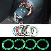 Car Ignition Switch cover noctilucence glow 3D stickers auto accessories for Opel astra h j g mokka insignia zafira corsa(China (Mainland))