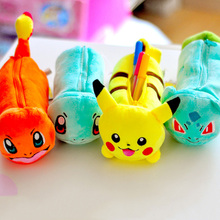Buy  (1Pc/Sell) Kawaii Pokemon Pencil Case School Supplies Bts Stationery Gift Estuches School Cute Pencil Box Pencilcase Pencil Bag for $3.36 in AliExpress store