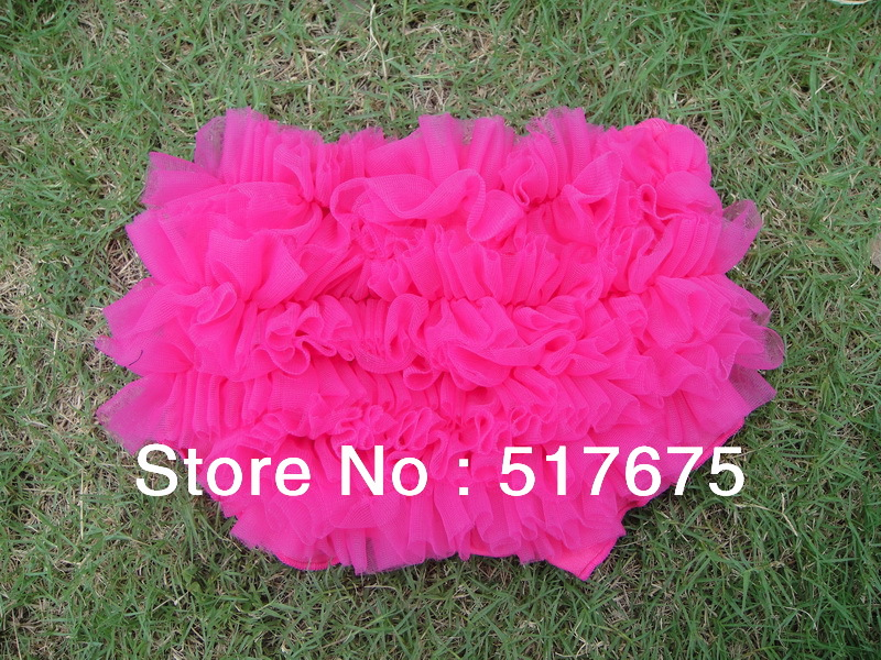 Free shipping infant baby girl bloomers lace ruffled panties baby girls tutu pants cotton bloomer Y004(China (Mainland))