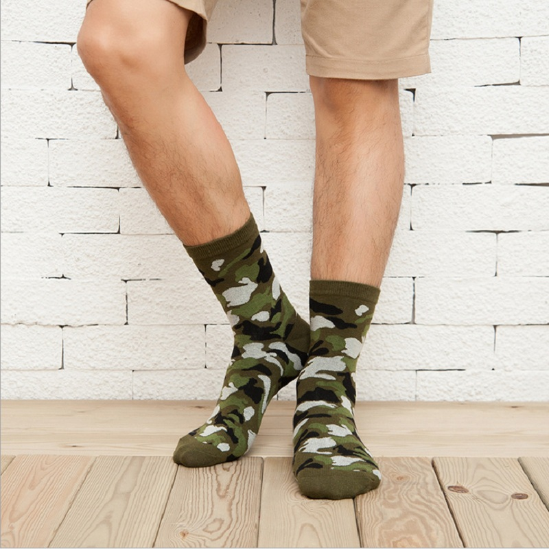 Wholesale 10 Pairs/Lot Mens Handsome Various Kinds Of Camouflage Pattern Cozy Cotton Knitted Socks Одежда и ак�е��уары<br><br><br>Aliexpress