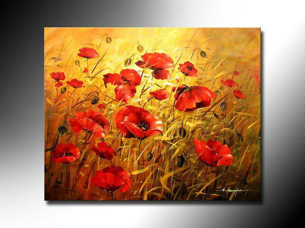 livraison gratuite peintures florales peinture l 39 huile. Black Bedroom Furniture Sets. Home Design Ideas