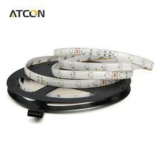Buy 1Pcs 2835 / 3528 SMD Waterproof 5M LED Strip light DC12V Flexible RGB lamp Tape 60LEDs/M Decor Holiday Christmas Ribbon lighting for $2.50 in AliExpress store