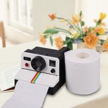 1Pcs Creative 80s Style Cute Retro Camera Shape Inspired Toilet Paper Holder/Toilet Roll Box Tissue Dispenser(China (Mainland))