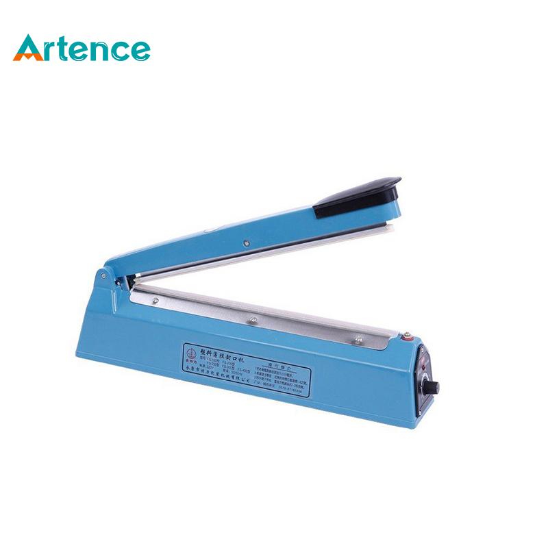 Hand Sealer AC 220V Hand pressure heat sealing machine household manual plastic food packaging machine(China (Mainland))