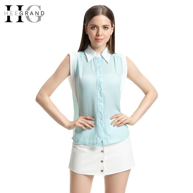 Большие скидки! Блузка 2016 лоскутное отложным воротником рукавов Camisa FeМиниna ...