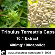 Pure Tribulus Terrestris Extract Powder Capsules 90% Saponins Caps Fitness Nutrition Sports Supplements For Sexual Satisfaction