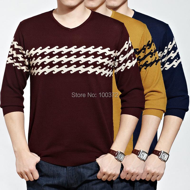 Hot sale men s shirt loose casual v neck t shirts for men for Mens t shirts for sale
