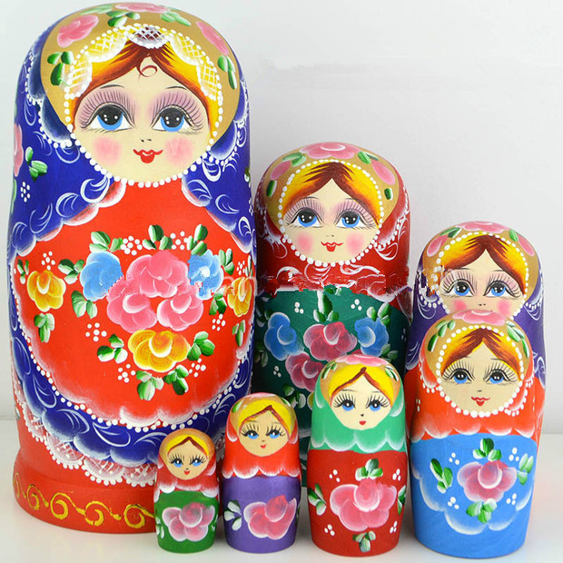 Hcho-free flavour. Dry basswood Russian dolls imported quality goods 7 l