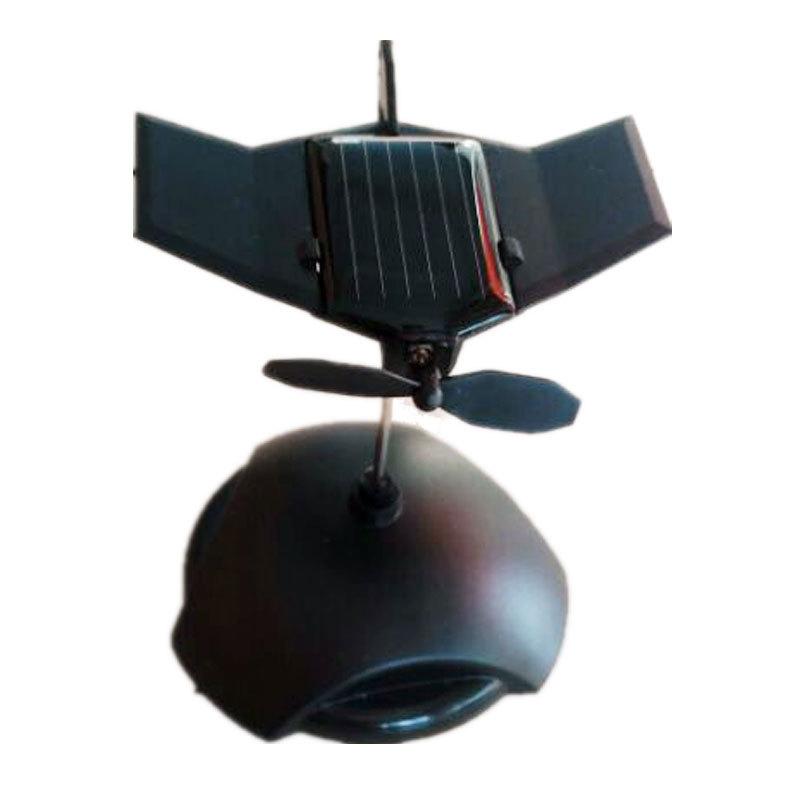 Solar Assembled Toy Small Plane Black Hawk Automobile Decoration Small Plane Car Assembles Toy(China (Mainland))