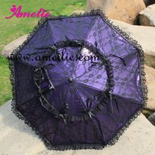 Free shipping, Princess lace umbrella sun umbrella(China (Mainland))