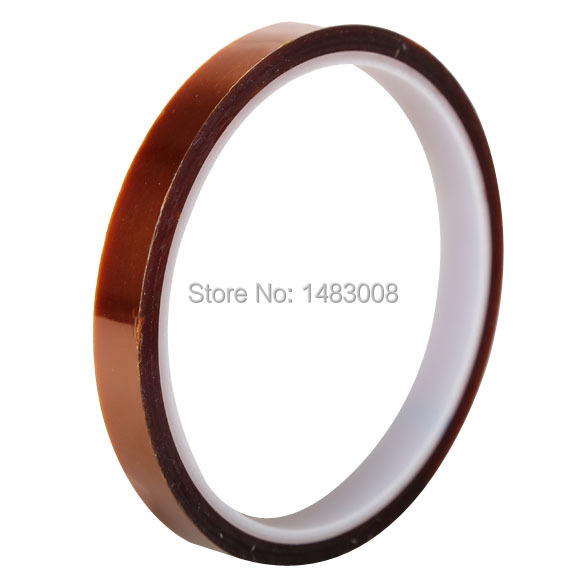 Гаджет  10mm X 33m Tawny Temperature Heat Resistant Dedicated Adhesive Tape High Quality None Электронные компоненты и материалы